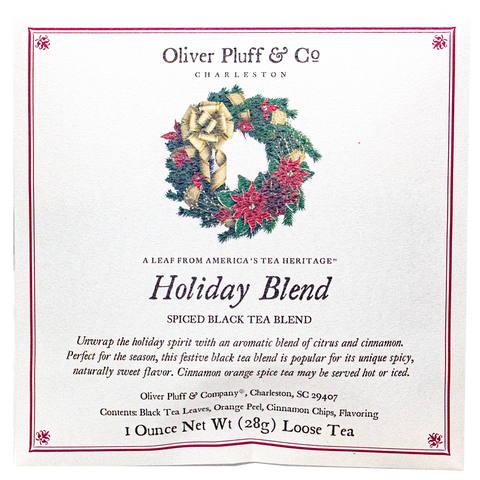 Holiday Blend Fine Tea - 1 oz Envelope