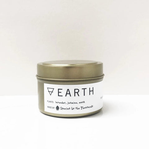 Earth Elemental Candle Tin