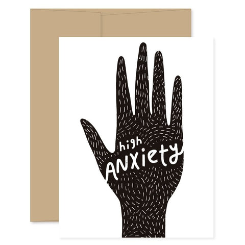 High Anxiety Card