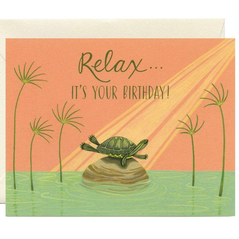Relaxing Birthday Card