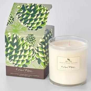 9.5 oz Roland Pine Single-Wick Candle