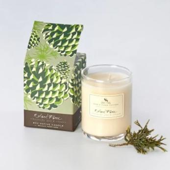 2.4 oz Roland Pine Votive Candle