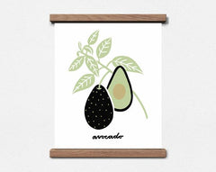 Avocado Botanical Print