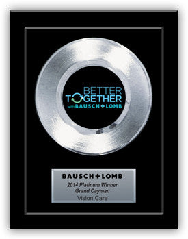 "7"" Platnimum Record Award"