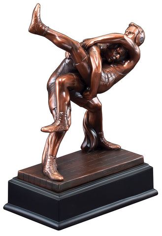 Resin Wrestling Trophy