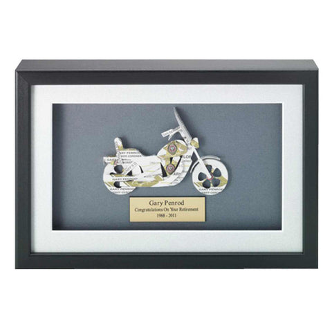 Motorcycle Business Card Award