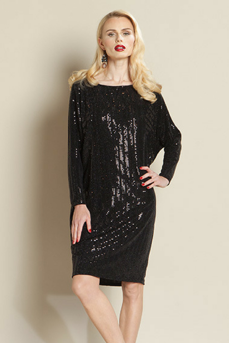 clara sunwoo sequin dress dr203s