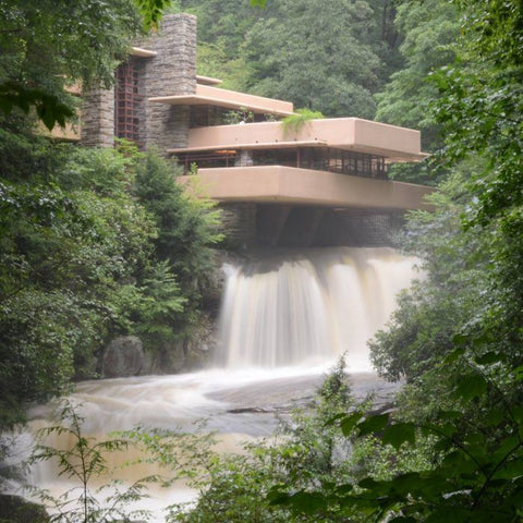 Frank Lloyd Wright S Fallingwater Damaged From Flooding