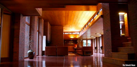BOOK A STAY: FRANK LLOYD WRIGHT HOMES IN WISCONSIN