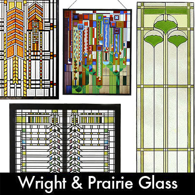 Frank Lloyd Wright & Prairie Glass
