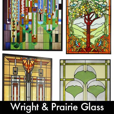 frank lloyd wright u0026 prairie glass