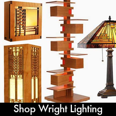 Frank Lloyd Wright & Prairie Lighting
