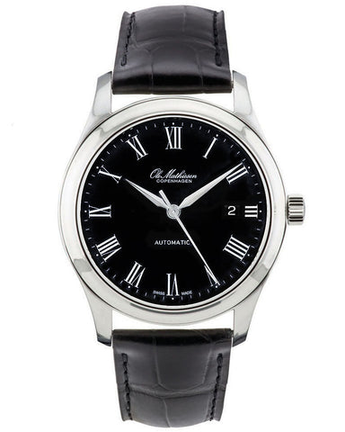 Ole Mathiesen 1919 Heritage Automatic Watch Black Face