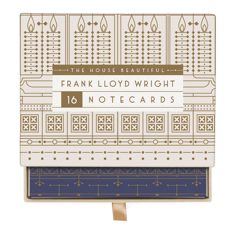 Frank Lloyd Wright House Beautiful Greeting Assortment Notecard Box
