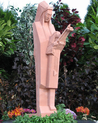Frank Lloyd Wright Nakomis Sculpture 54""