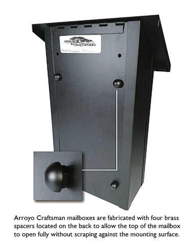 Mission MMB Vertical Mailbox by Arroyo Craftsman