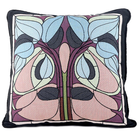 Arts & Crafts Art Nouveau Summer Floral Tapestry Pillow
