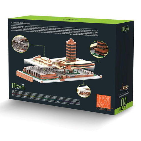 Frank Lloyd Wright SC Johnson Global Headquarters Architecture Building Brick Set 2
