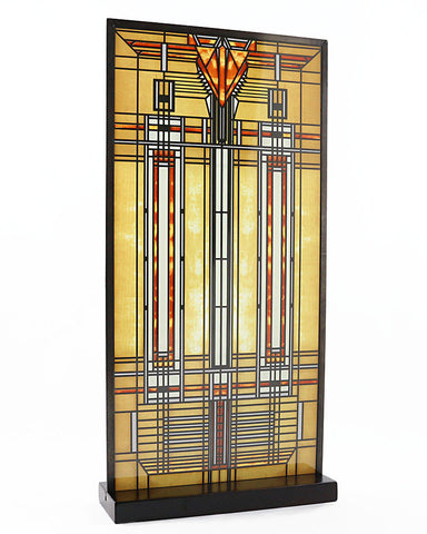 FLW Bradley Skylight Stained Glass