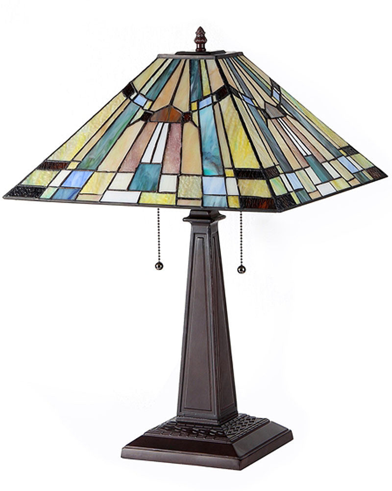 ... Kinsey Stained Glass Table Lamp Inset ...