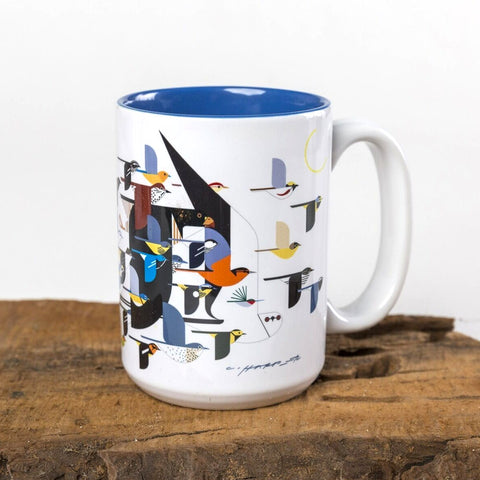 Charley Harper Mystery of the Missing Migrants Mug