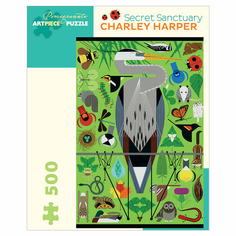 Charley Harper Secret Sanctuary 1000 Piece Jigsaw Puzzle