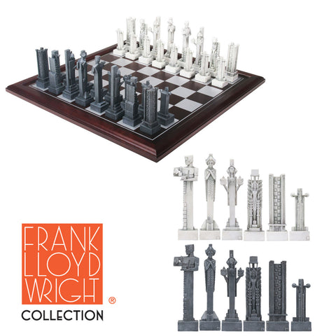 Frank Lloyd Wright Midway Gardens Chess Set