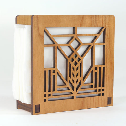 Frank Lloyd Wright Lake Geneva Napkin Holder or Letter Holder