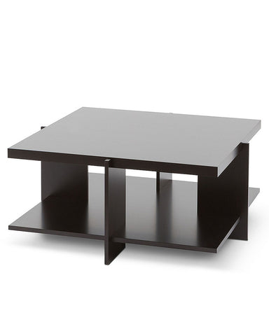 "Wright Lewis Coffee Table by Cassina - 35.4"" Cherry Wood Stained Black"