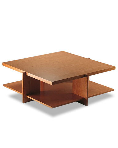 "Wright Lewis Coffee Table by Cassina - 35.4"" Cherry Wood"
