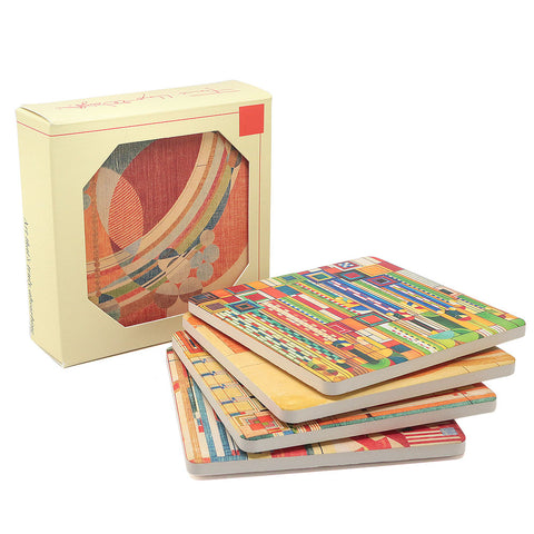 Frank Lloyd Wright Coasters Liberty Covers Gift Set 1