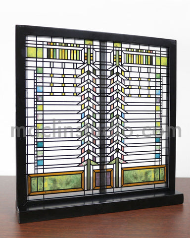FLW Martin Casement Stained Glass Inset