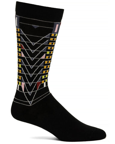 Frank Lloyd Wright Men's Socks Tree of Life - Black