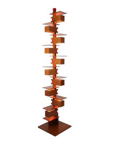 Frank Lloyd Wright Taliesin 2 Floor Lamp - Cherry