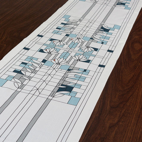Frank Lloyd Wright Waterlilies Table Runner
