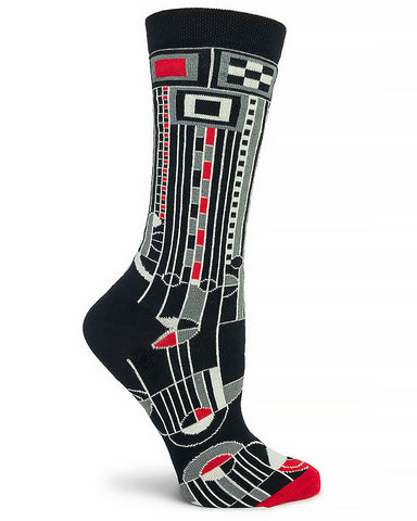 Frank Lloyd Wright Saguaro Women's Socks - Black