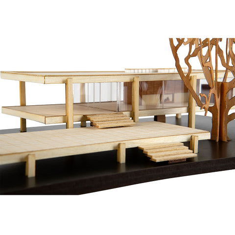 Farnsworth House Scale Replica Kit by Model Landmarks