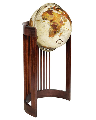 Frank Lloyd Wright Barrel Floor Standing Globe
