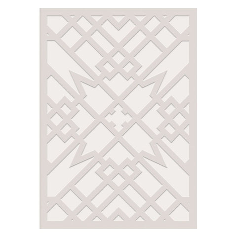 Frank Lloyd Wright Embossed Heller House Notecard