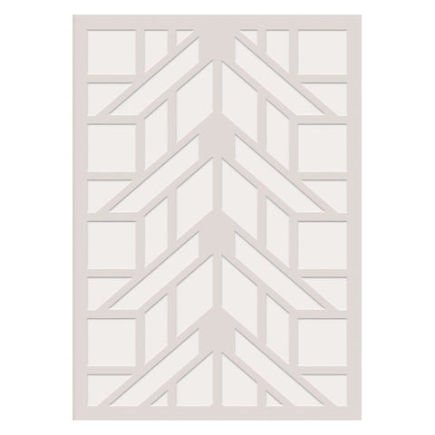 Frank Lloyd Wright Embossed Martin House Notecard