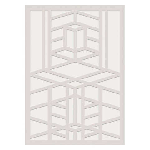 Frank Lloyd Wright Embossed Robie House Notecard