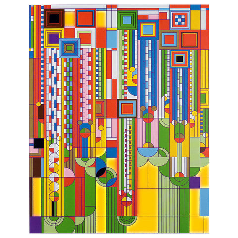Frank Lloyd Wright Saguaro Forms 1000 Piece Foil Stamped Puzzle