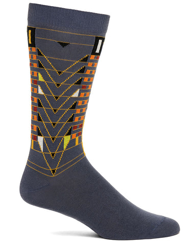 Frank Lloyd Wright Tree of Life Men's Socks - Grey
