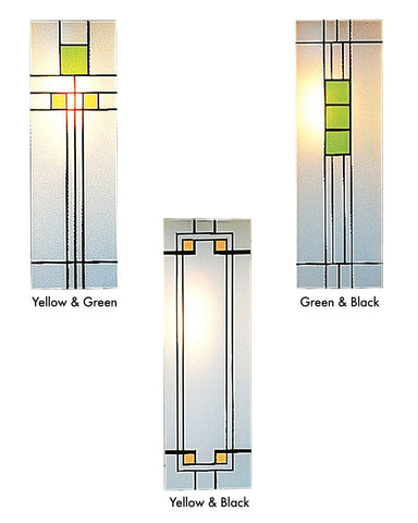 Franklin FB-9L Wall Sconce by Arroyo Craftsman - Silk Screen Panel