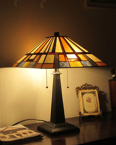 Arts and Crafts Merlin Table Lamp