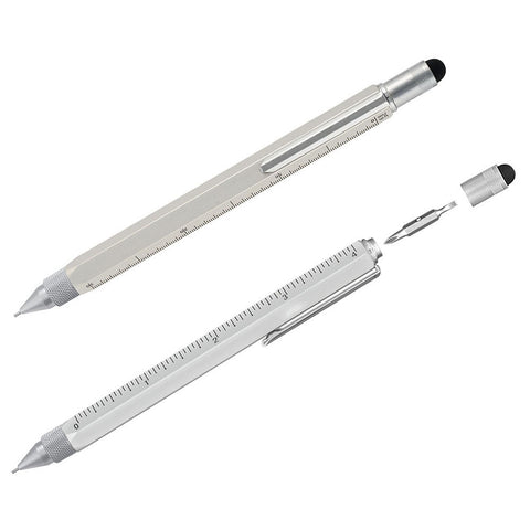 Silver Stylus Multifunction Tool Pencil