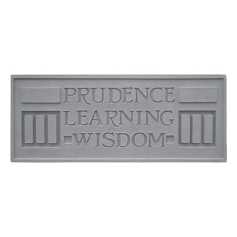 Frank Lloyd Wright Larkin Cast Stone Plaque - Prudence
