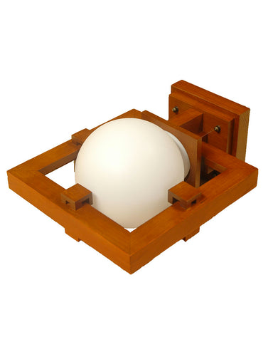 Frank Lloyd Wright Robie Wall Sconce - Cherry