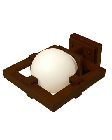 Frank Lloyd Wright Robie Wall Sconce - Walnut