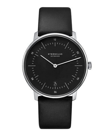 Sternglas Naos Black / Black Watch Front